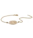 Armband circle - goud